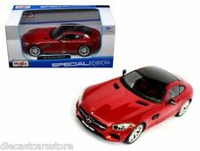 MAISTO  SPECIAL EDITION  MERCEDES-AMG GT 1/24 RED DIECAST CAR 31134RD