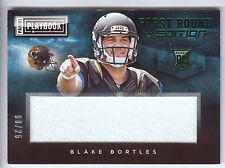 2014 Playbook Rookie First Round Edition #BB Blake Bortles Prime Jersey #08/25
