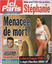 ▬►ICI PARIS 2974 STÉPHANIE MONACO_SARAH MICHELLE GELLAR_RICHARD ANTHONY_G.KELLY