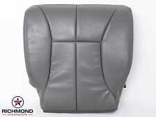 1998 1999 Dodge Ram 2500 SLT Laramie -Driver Side Bottom Leather Seat Cover Gray