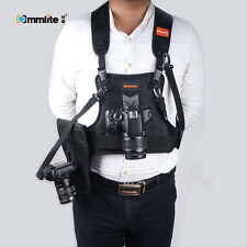 Commlite CS-S20-H1 Rain-proof Camera Carrying Vest Holster for DSLR Canon Sony