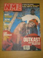 NME 2001 JUN 16 OUTKAST MUSE INCUBUS KID ROCK TRAVIS