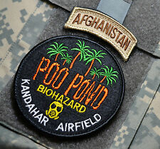 KANDAHAR AIRFIELD MUST-SMELL NUMBER ONE TOURIST ATTRACTION: POO POND + AFG TAB
