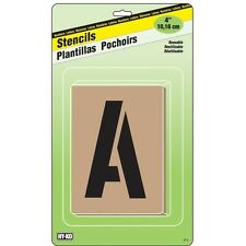 """HyKo 27550398 Stencil Kit 4"""" - Letters & Numbers"""