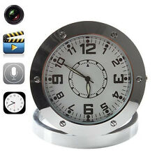 Hidden HD DVR Nanny Cam Desk Clock Pinhole Motion Detection Spy Camera Camcorder