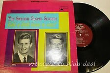 The Swedish Gospel Singers Take A Little Time To Sing ! LP (G) 12""