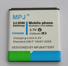 MPJ 2500mah BA800 Extended Battery For Sony Xperia S,LT26,LT26i,Arc HD,Nozomi
