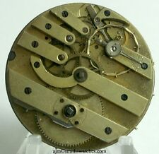 SWISS LEVER POCKET WATCH MOVEMENT WITH UNUSUAL BALANCE WHEEL K2