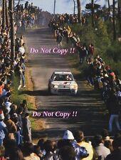Ari Vatanen Peugeot 205 Turbo 16 Portugal Rally 1985 Photograph 2