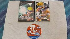 NARUTO UZUMAKI NINDEN,  SONY PLAYSTATION 2/PLAY2/PS2, JAP/IMPORT/JP/GIAPPONESE