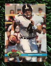 1991 Topps Stadium Club Brett Favre Atlanta Falcons RC Rookie