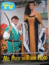 TV Sorrisi e Canzoni n°3 1992 Emanuela Folliero Maurizio Seymandi [D44]