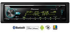 PIONEER DEH-X7850BT S/DIN RECEIVER FRONT AUX USB IPHONE BLUETOOTH CAR STEREO NEW
