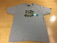 Undefeated UNDFTD Tiger Camo 5 Strikes Logo Tee Shirt Heather Gray L Play Dirty