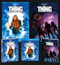 THE THING horror DELUXE LIMITED EDITION BLU-RAY Posters Slipcover SCREAM FACTORY