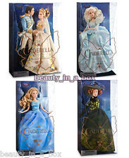 Cinderella Prince Fairy Godmother Lady Tremaine Disney Doll Live Action Film