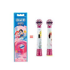 Braun ORAL-B EB10 Stages Power Replacement Brush Heads 2EA [ Disney Princess ]