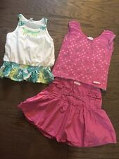 Naartjie Size 7 Vintage Skirt Set Vguc And A Tank Top