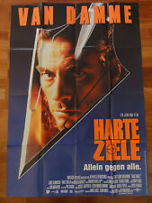 Jean Claude van Damme HARTE ZIELE A0 Plakat