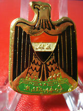 Iraq- Iraqi Armed Forces Beret Cap Color Eagle Badge. From Iraq