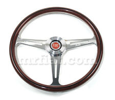 Fiat 124 Coupe Spider 128 Wood Steering Wheel New