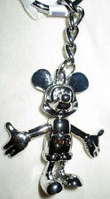 """Disney Parks Mickey Mouse Keychain Marionette Poseable 3"""" - NEW"""