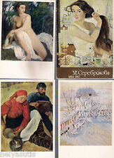 Z.E.Serebryakova. 1884-1967. Complete set of cards .16 color postcards