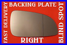 VAUXHALL ASTRA H TWINTOP 2004-2008 WING MIRROR GLASS BLIND SPOT BACK PLATE RIGHT