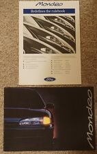 1993 FORD MONDEO LAUNCH FLEET BUYERS BROCHURE AND VERY RARE BOOKLET