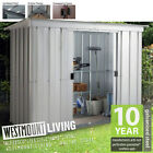 NEW 6x4 6x4FT 6 x 4 FT QUALITY METAL STEEL GARDEN PENT SHED *FREE ANCHOR KIT*