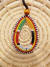 African Maasai Beaded Necklace Masai Massai ethnic tribal boho jnmp40