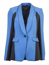 "Rag & Bone sz 0 BUST ~34"" Blue Jefferson Blazer Jacket Coat USA Women Lady Gift"
