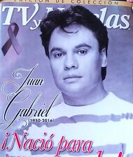 TV Y NOVELAS ESPECIAL DE JUAN GABRIEL SPECIAL ISSUE TRIBUTE TO JUAN GABRIEL