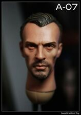 1/6 Custom Robert Knepper T-Bag Head Prison Break Sculpt For Hot Toys Body