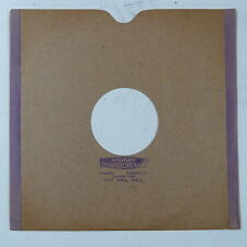 """78rpm 10"""" card gramophone record sleeve / cover SYDNEY SCARBOROUGH , HULL ."""