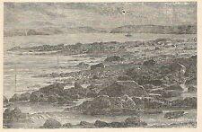 A6177 Danubio - Porte di ferro - Stampa Antica del 1929 - Incisione
