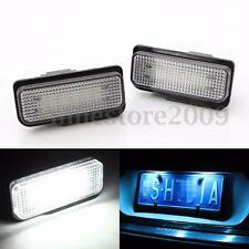 2x No Error License Plate LED Light For Mercedes Benz W203 W211 W219 SLK CLS C21