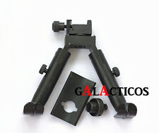 "5.1"" Bipod For Air Rifle Airgun Airsoft Picatinny/Swivel Mount SteelStand"
