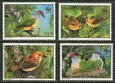 COOK ISLANDS 1989 WWF ENDANGERED BIRDS MINT COMPLETE SET - $15.50 VALUE!