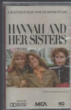HANNAH AND HER SISTERS Soundtrack/DEREK SMITH Dick Hyman/ RARE NEW CASSETTE