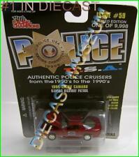 1996 '96 CHEVY CHEVROLET CAMARO KANSAS HIGHWAY PATROL POLICE USA RC DIECAST