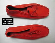 $800.00 Genuine Limited Edition FERRARI TOD'S Red Leather Driving Make An Offer!