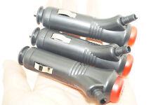 3Pcs Led Lighted 12V On/Off Fused Switch Lighter Socket Plug Outlet Car Boat