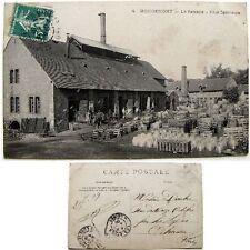 Cpa 41 St Jean-Froidmentel Rougemont la verrerie cour intérieure 1909 cloches