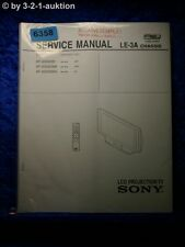 Sony Service Manual KF 50SX200 /K /U LCD Projrction TV (#6358)