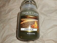 Yankee Candle Fireside Large Jar 22oz New Hard to Find