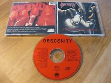OBSCENITY suffocated truth CD Rare ORG 1st Press 1992 West Virginia |Fleshcrawl|