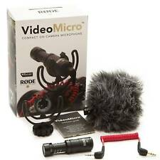 Rode VideoMicro On Camera DSLR Shotgun Microphone LAST ONE CLEARANCE PRICE