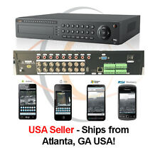 16 Ports Tribrid HD 1080p H.264 Network Analog/IP Standalone DVR