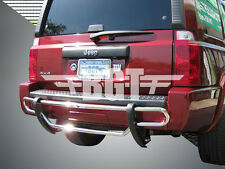 BGT 06-10 JEEP COMMANDER REAR DOUBLE TUBE UNDER DESIGN BUMPER PROTECTOR S/S